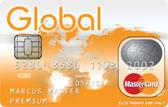 Global MasterCard Kreditkarte